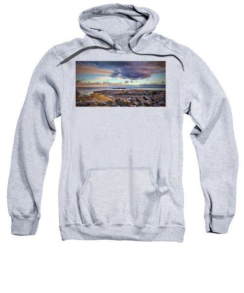 Pebbles And Sky  #h4 Sweatshirt