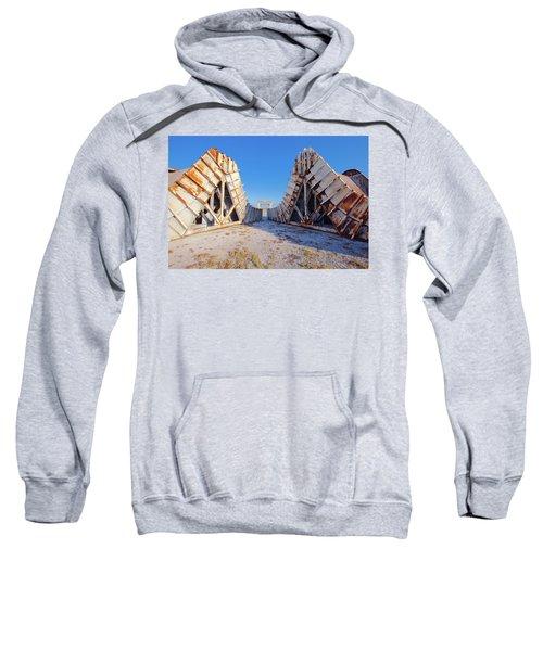 Pedestal Between The Deflectors Sweatshirt