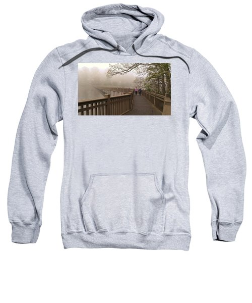 Pedestrian Bridge Early Morning Sweatshirt
