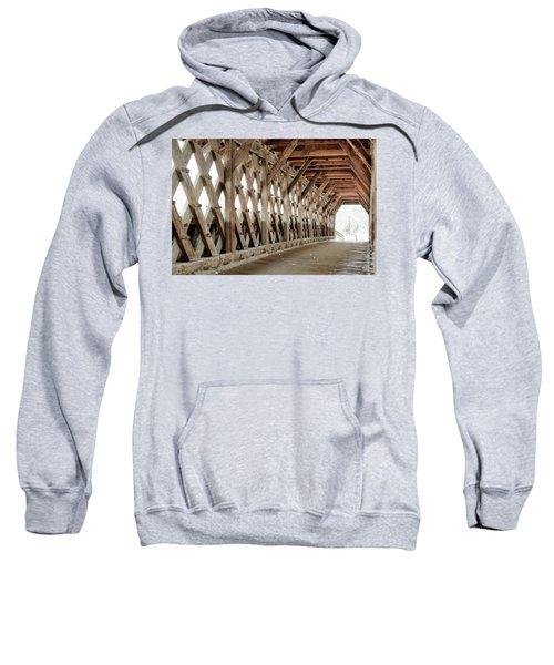 Pedestrian Bridge Guelph Ontario Sweatshirt