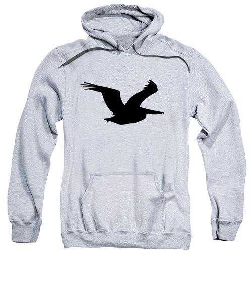Pelican Profile .png Sweatshirt
