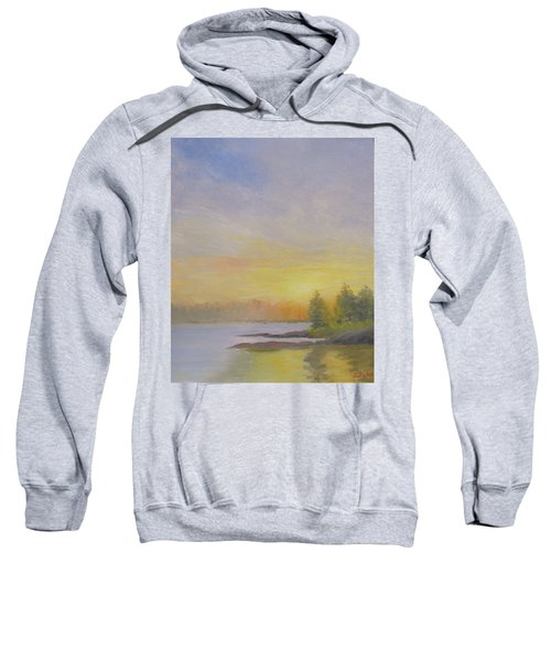 Pemaquid Beach Sunset Sweatshirt