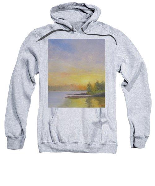 Pemaquid Beach Sunset Sweatshirt