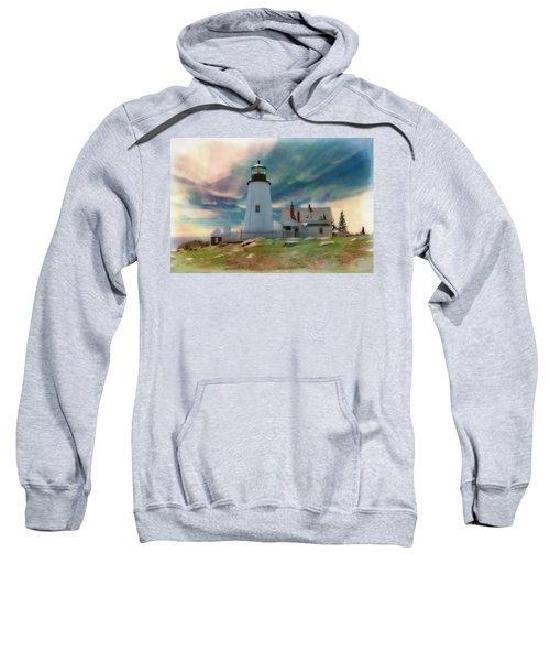 Pemaquid Lighthouse,maine Sweatshirt