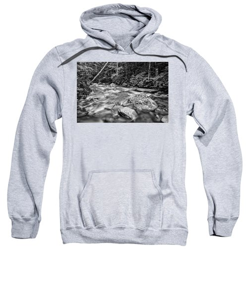 Pemi River Black-white Sweatshirt