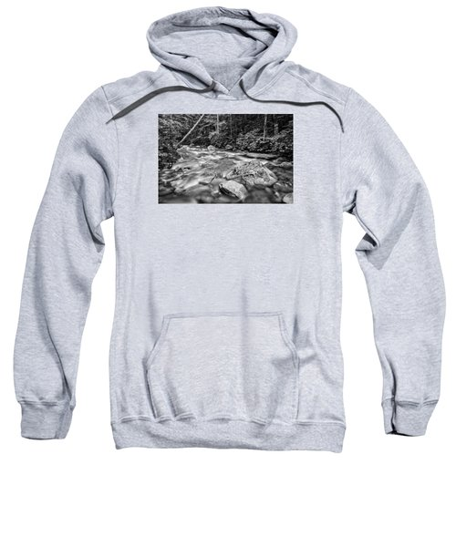 Pemi River Black-white Sweatshirt