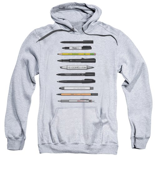 Pen Collection For Sketching And Drawing II Sweatshirt