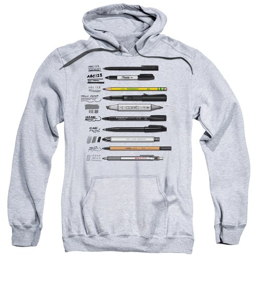 Pen Collection For Sketching And Drawing Sweatshirt