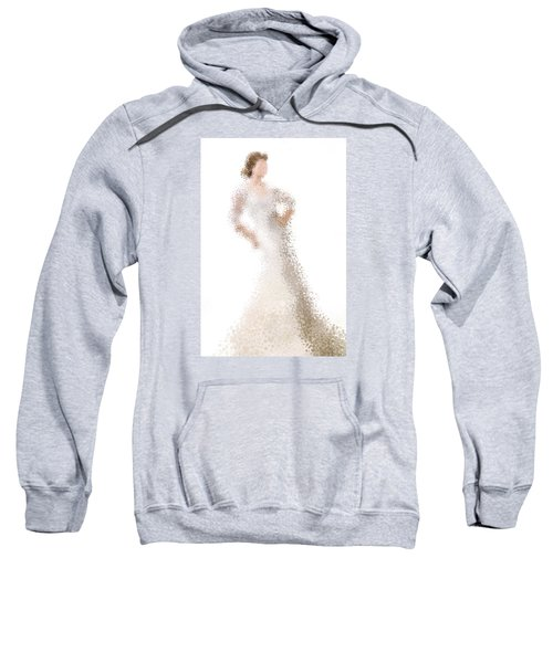Sweatshirt featuring the digital art Penelope by Nancy Levan