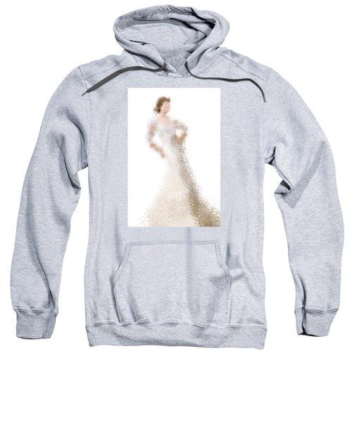 Sweatshirt featuring the digital art Penelope by Nancy Levan