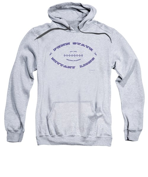 Penn State Nittany Lions Football Design With Transparent Background Sweatshirt