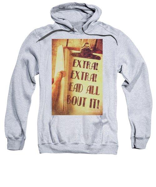 Penny Press Journal Sweatshirt
