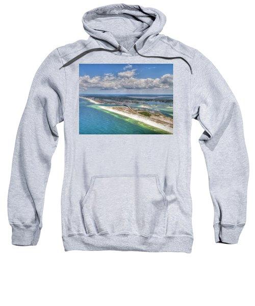 Perdido Pass Aerial 3029 Sweatshirt
