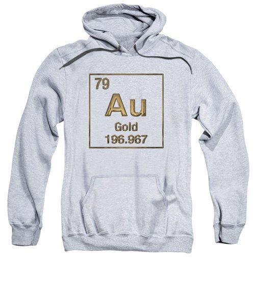 Periodic Table Of Elements - Gold - Au Sweatshirt