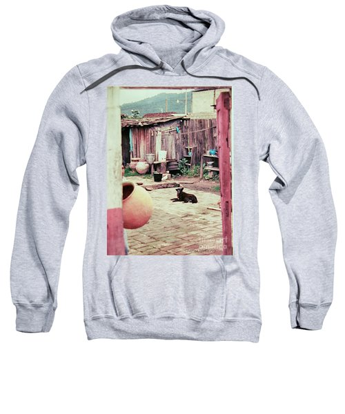 Perro On The Patio Sweatshirt