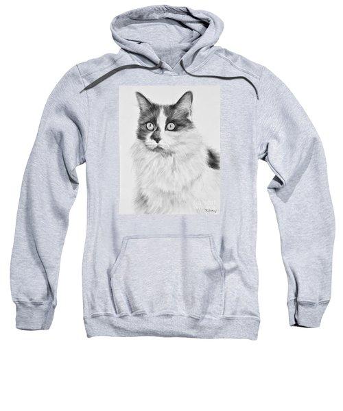 Pet Cat Drawing Olivia Sweatshirt