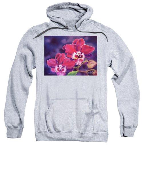 Phalaenopsis Orchid Sweatshirt