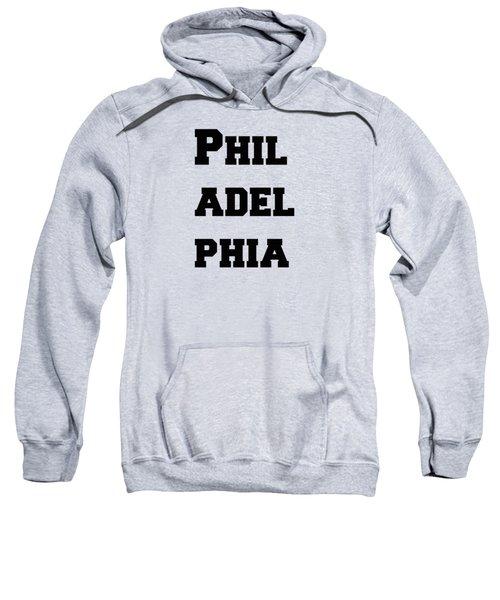 Philadelphia In Pink Sweatshirt
