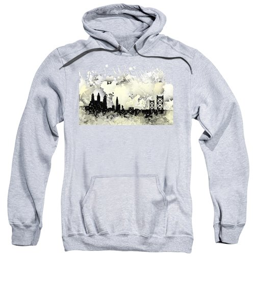 Philadelphia Skyline. Sweatshirt
