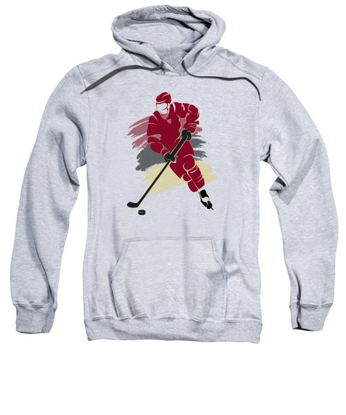 Phoenix Coyotes Player Shirt Sweatshirt by Joe Hamilton