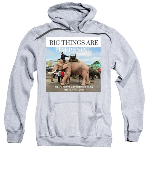 Sweatshirt featuring the photograph #photoadventure #travel #thailand by Mr Photojimsf
