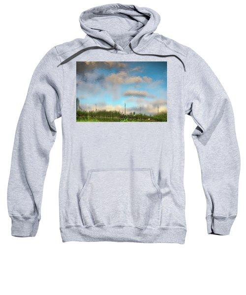 Photograph Like Oil Painting Sweatshirt