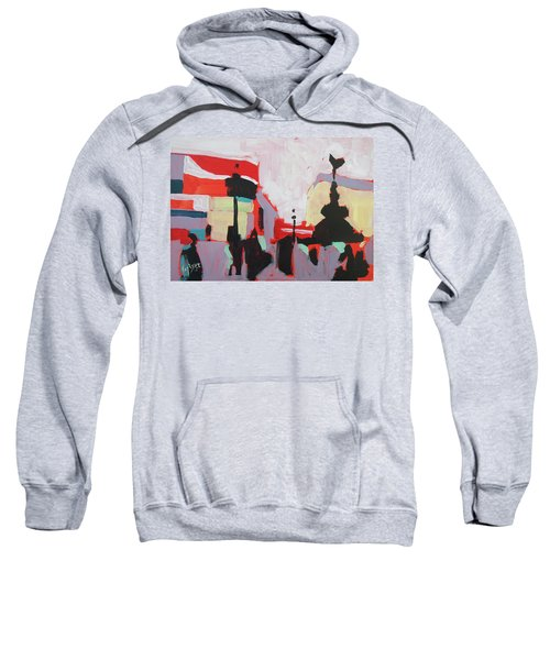 Piccadilly Circus Sweatshirt by Nop Briex