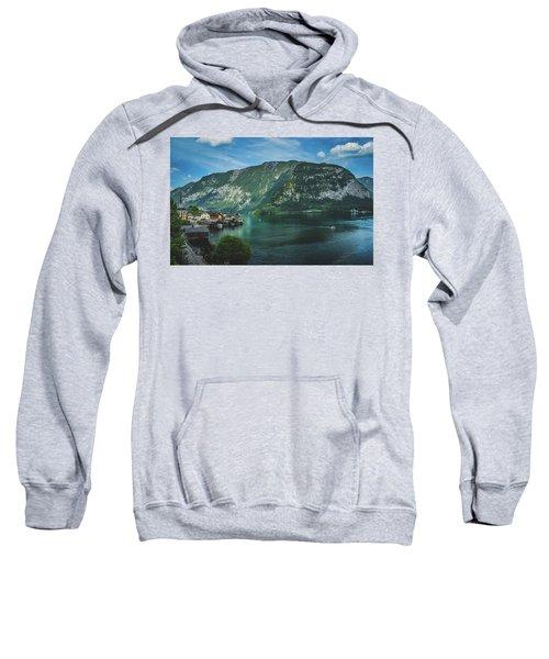 Picturesque Hallstatt Village Sweatshirt