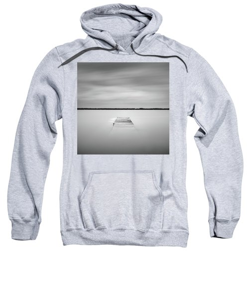 Pier Sinking Into The Water Sweatshirt