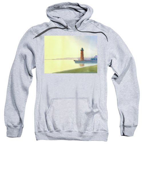 Pierhead Lighthouse, Milwaukee Sweatshirt