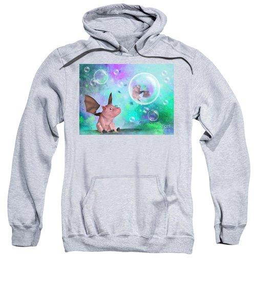 Pig In A Bubble Sweatshirt
