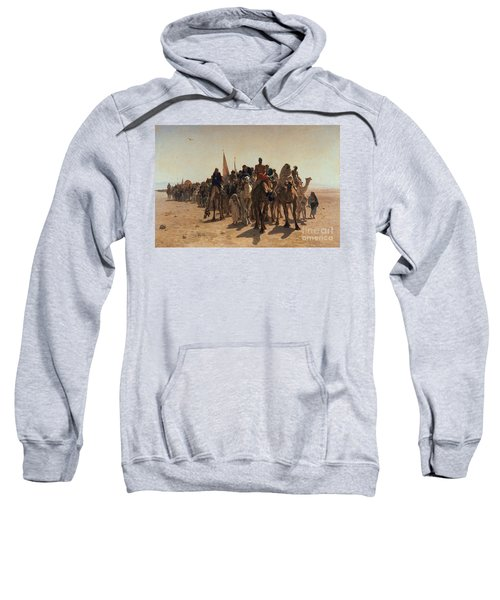 Pilgrims Going To Mecca Sweatshirt