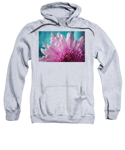 Pink And Aqua Sweatshirt