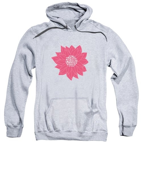 Pink Chrysanthemum Sweatshirt