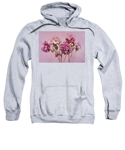 Pink Columbines Sweatshirt