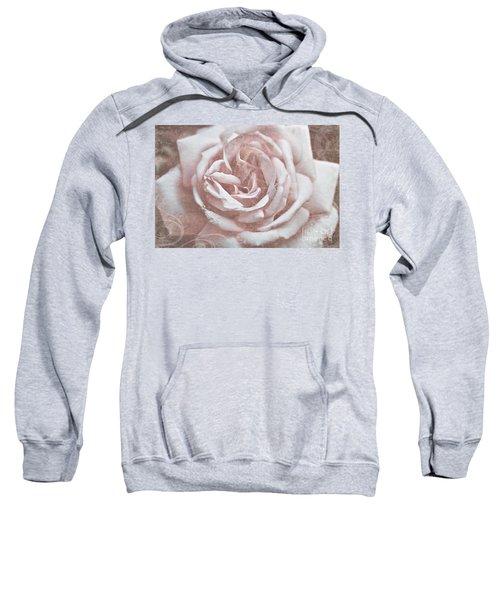 Pink Garden Rose Sweatshirt