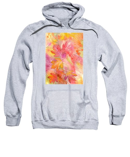 Pink Leaves Sweatshirt