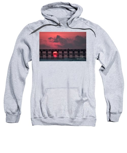 Pink Pier Sunrise Sweatshirt
