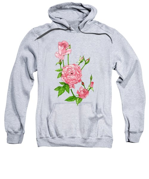Pink Roses Sweatshirt