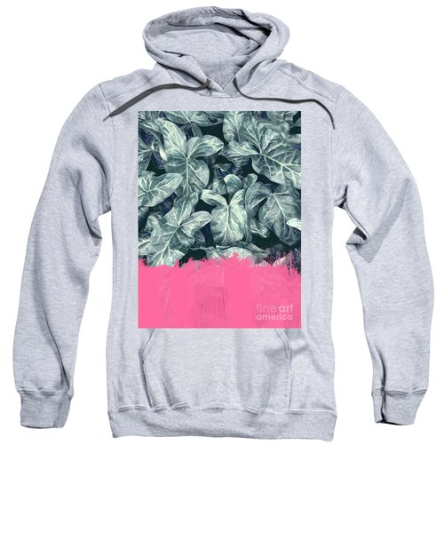 Pink Sorbet On Jungle Sweatshirt