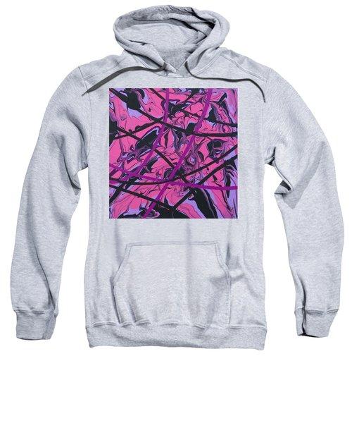 Pink Swirl Sweatshirt