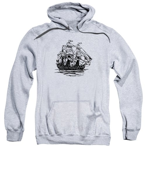 Pirate Ship Artwork - Vintage Sweatshirt