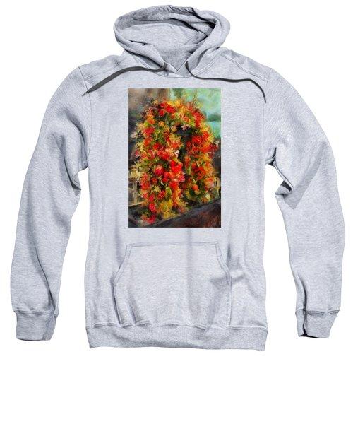 Pi's Flowers 2 Sweatshirt