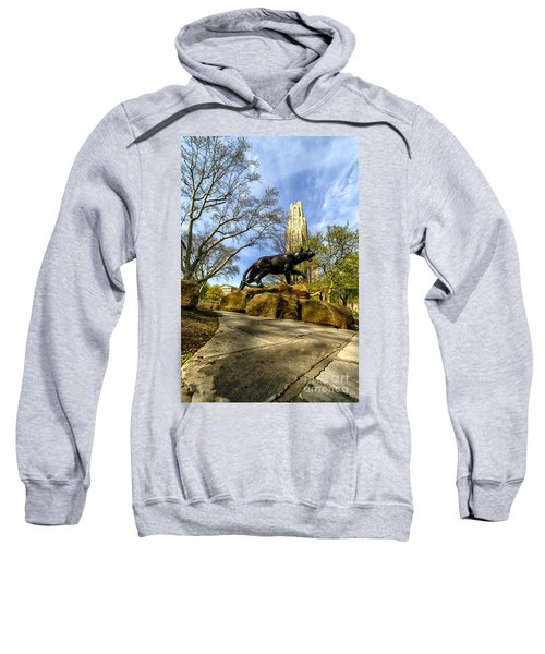 Pitt Panther Cathedral Of Learning Sweatshirt