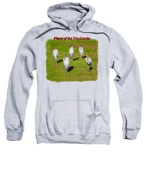 Planet Of The Woodstorks 2 Sweatshirt