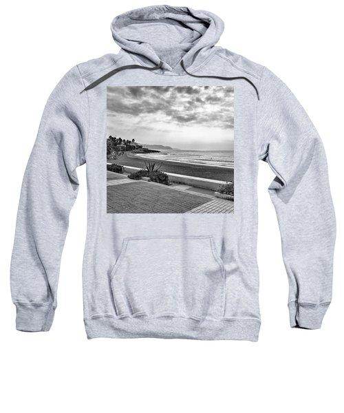 Playa Burriana, Nerja Sweatshirt by John Edwards