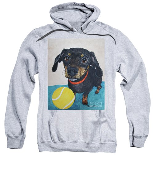 Playful Dachshund Sweatshirt