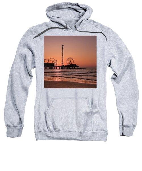 Pleasure Pier At Sunrise Sweatshirt