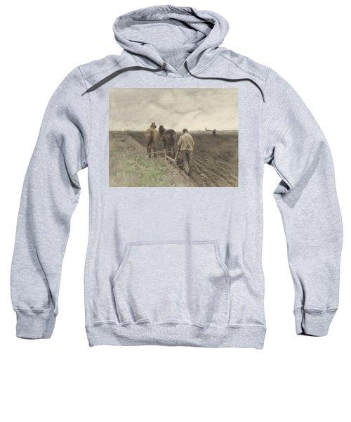 Ploughing Farmer Sweatshirt