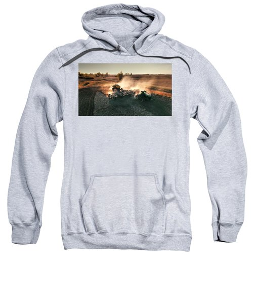 Plow The Fields And Scatter  Sweatshirt